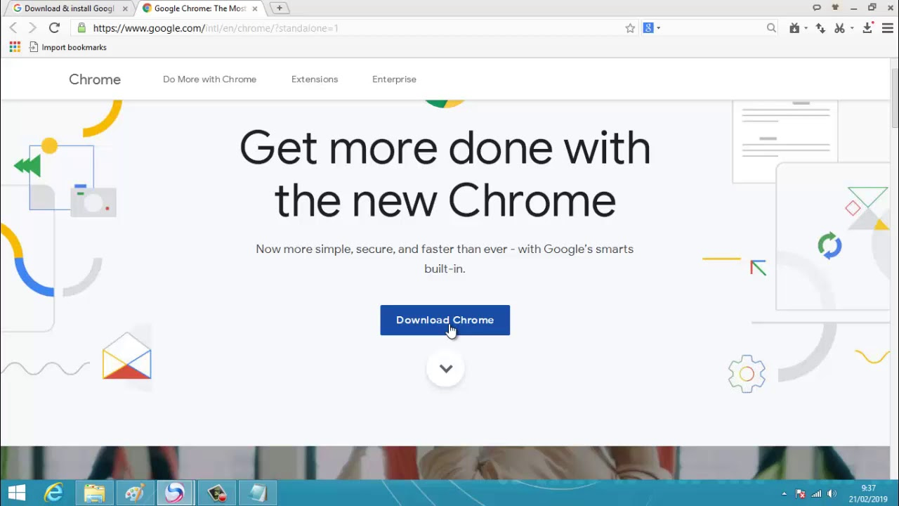 Download dan Install Chrome Browser Offline Installer Terbaru
