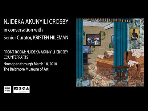 Njideka Akunyili Crosby Discusses COUNTERPARTS, her Front Room exhibition at the BMA