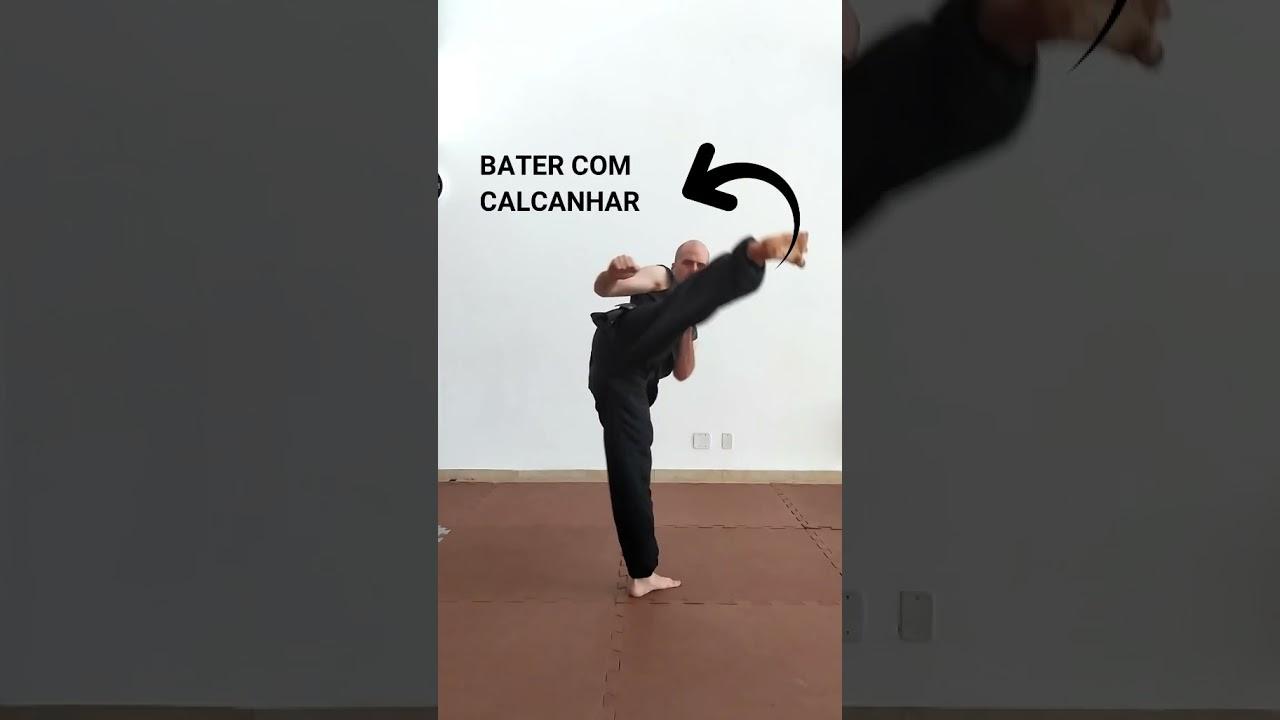 Chute em Gancho do Kung Fu #shorts