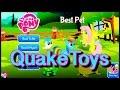 My Little Pony Story App Best Pet MLP Rainbow Dash Tank Fluttershy QuakeToys