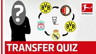 Can You Guess The Footballers From Their Transfers? - Transfer Quiz
