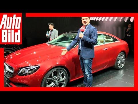 Mercedes E-Coupé - Review/Details (Detroit 2017)