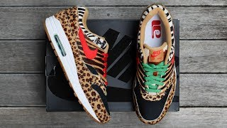 "ATMOS x NIKE AIR MAX 1 DLX ""ANIMAL PACK 2.0"" 