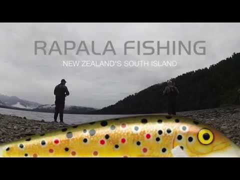 Rapala Spin Fishing New Zealand - BIG TROUT ACTION!
