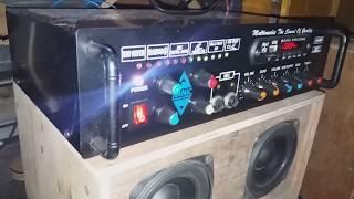 Kit Power Amplifier miniatur 300 watt stereo siap untuk di jual