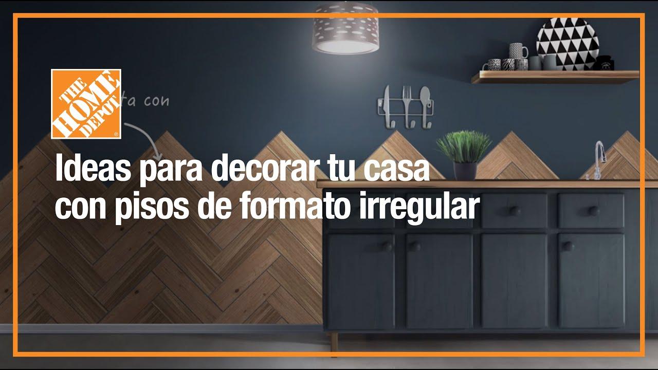 Decora tu hogar con pisos de formato irregular youtube - Decora tu piso ...