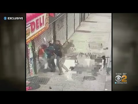 Suspect Uses Police Taser On 3 Officers During Brooklyn Robbery