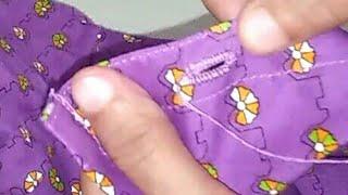 How To Make Button Holes Hand Stitch (kaj Button)
