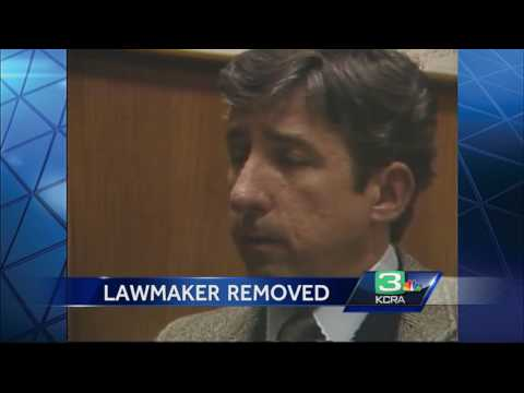 Why a California senator was removed from the floor