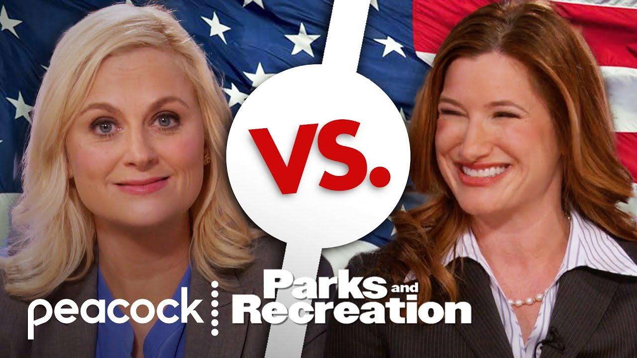 Leslie Knope vs. Jennifer Barkley - Parks and Recreation