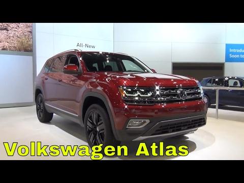 First Look   2018 Volkswagen Atlas SEL