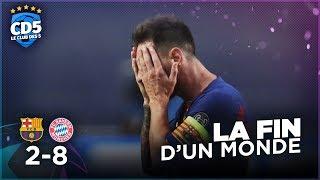 FC Barcelone vs Bayern Munich (2-8) LIGUE DES CHAMPIONS - Débrief #763 - #CD5
