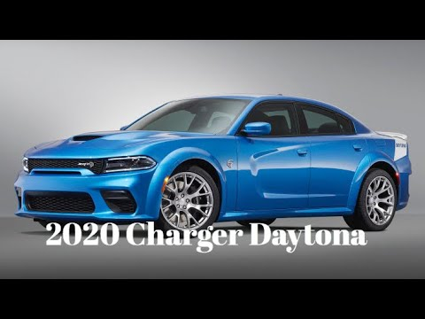 2020 Charger Hellcat Daytona 50th Anniversary Edition