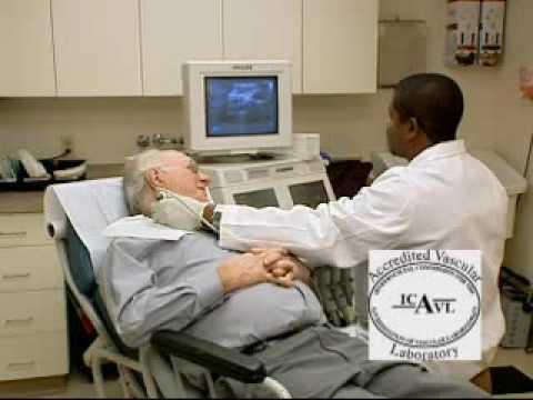 Carotid artery testing
