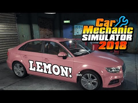 Customer Buys Pink Lemon Online! - Engine Rebuild - Car Mechanic Simulator 2018 Gameplay