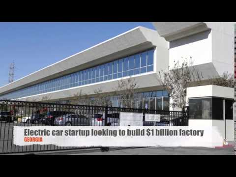 Faraday Future may build $1 billion plant in Georgia