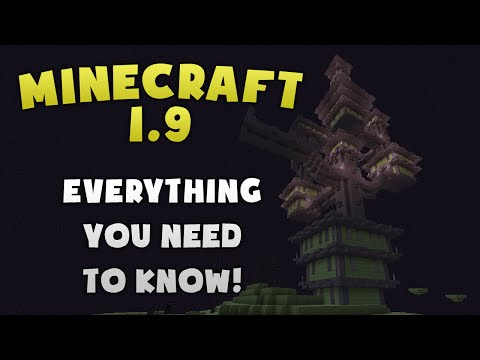 Minecraft 1.9 - Everything You Need To Know!
