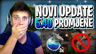 Novi Update Velike Promjene 5.40 Fortnite