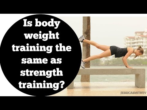 is-body-weight-training-the-same-as-strength-training?
