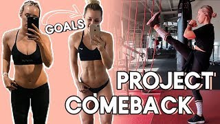 Project Comeback Ep.1 Part 1: Workout Routine & How to Start!