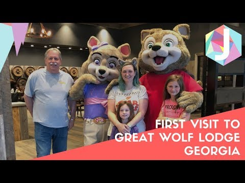 FIRST VISIT TO GREAT WOLF LODGE LAGRANGE GEORGIA