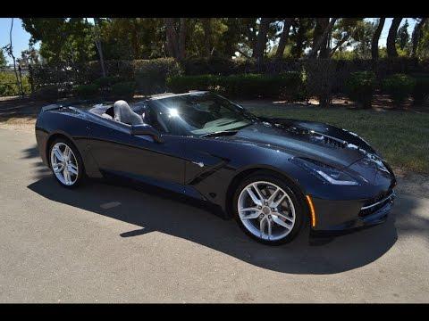 SOLD 2014 Chevrolet Corvette Z-51 Convertible Jet Black for sale by Corvette Mike