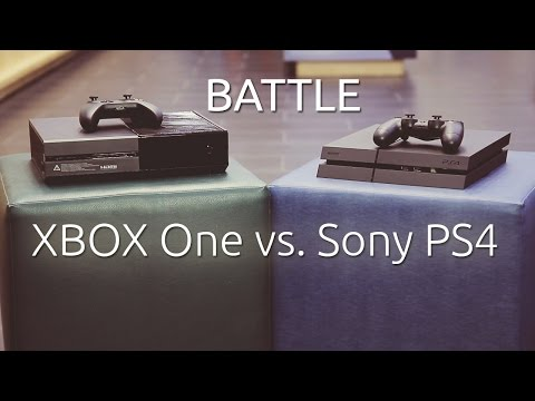 Console Battle - Sony Playstation 4 vs. XBOX One (Română)