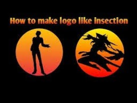 HOW TO CREATE SHADOW LOGO   LIKE INSECTION   (Easiest ...