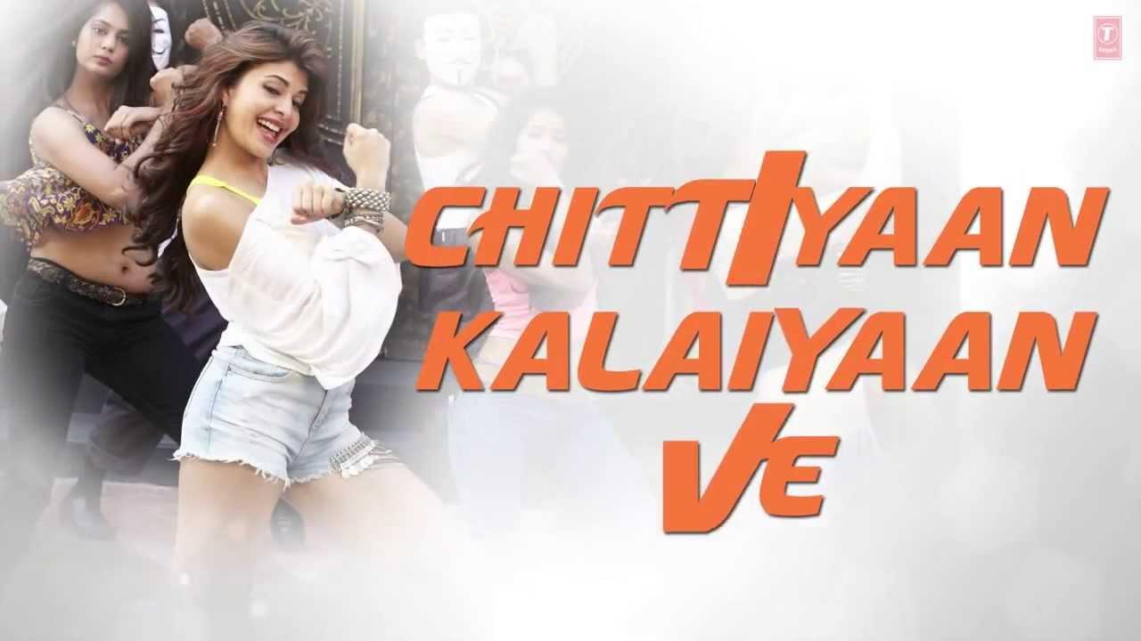 'Chittiyaan Kalaiyaan' FULL SONG with LYRICS Roy Meet Bros ...