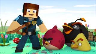 Minecraft : ANGRY BIRDS ESTÃO PRESOS !! - ( Polícia e Ladrão)