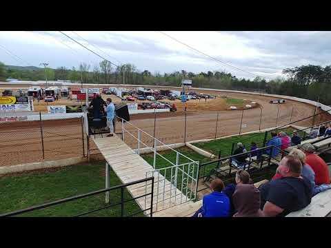 Lake Cumberland Speedway hot laps 4/13/18 Rod Carter JR