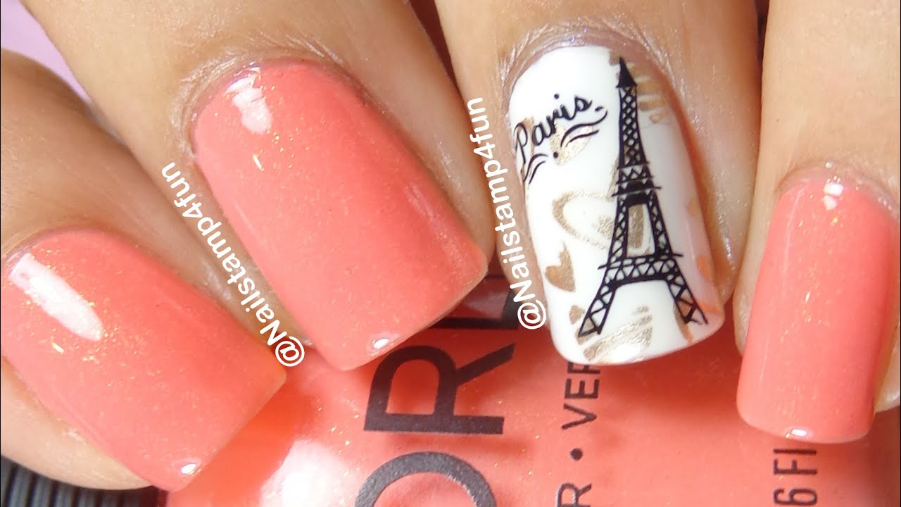 Paris Nails Bundle Monster Bm H18 419 Nail Stamping Shrinking Images You