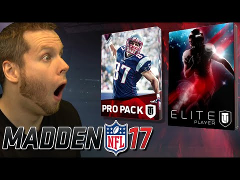 MADDEN 17 FIRST PACK OPENING!! NEW ELITES!!