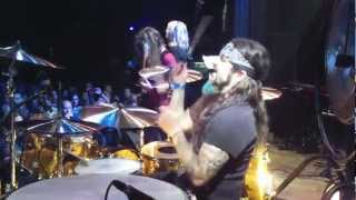 mike portnoy drum cam   dazed confused   bonzo birthday bash 2012