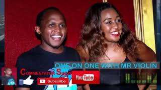 Wema Sepetu Amnyakuwa Bwana wa Wenyewe, Mr Violin - Commentator Show Mashujaa Edition
