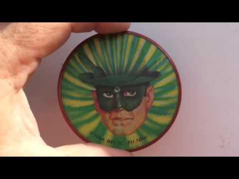 Green Hornet Vari-Vue flicker pin