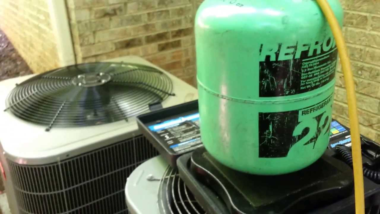 Overcharged For R22 Freon Youtube