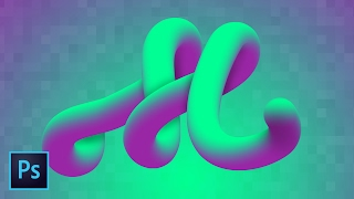 Advanced 3D Typography Effects PART 1 Photoshop CC How To Create Amazing Text With Mixer Brush
