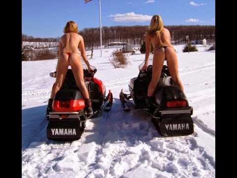 from Dexter hot girl on snowmobile