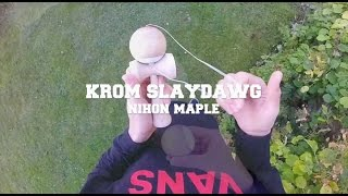Sesh with a fresh Nihon Maple Slaydawg - Lukas Sandgren Kendama
