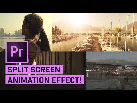 2x, 3x, And 4x Split Screens In Premiere Pro (with Animation)