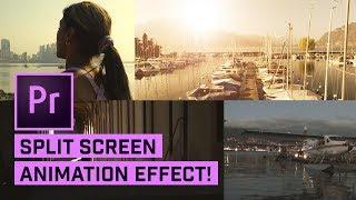 2x, 3x und 4x-Split-Screens in Premiere Pro (mit Animation)