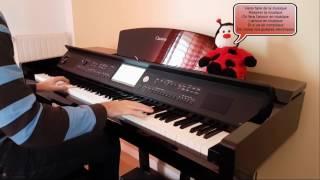 Calogero - Je joue de la musique (piano cover) [HD]