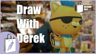 Draw with Derek - Kwazii from the Octonauts