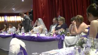Mr and Mrs Diplock Wedding Speeches 12/04/2013