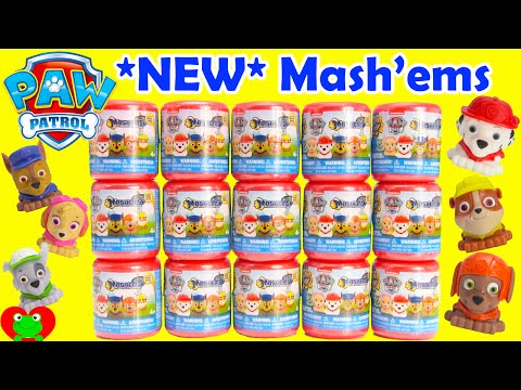 *NEW* Paw Patrol MASHEMS Full Set with Chase, Marshall, Skye and More