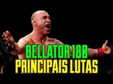 BELLATOR 180 - PRINCIPAIS LUTAS DO CARD