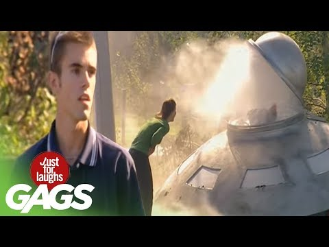 JFL Hidden Camera Gags: Flying Saucer