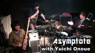 Japanese Experimental Rock - Double Drums, Kaisatsuko and Wavedrum(Asymptote&尾上祐一)自作楽器