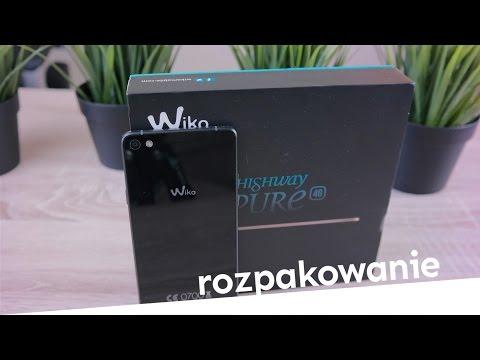 Wiko Highway Pure Rozpakowanie Unboxing